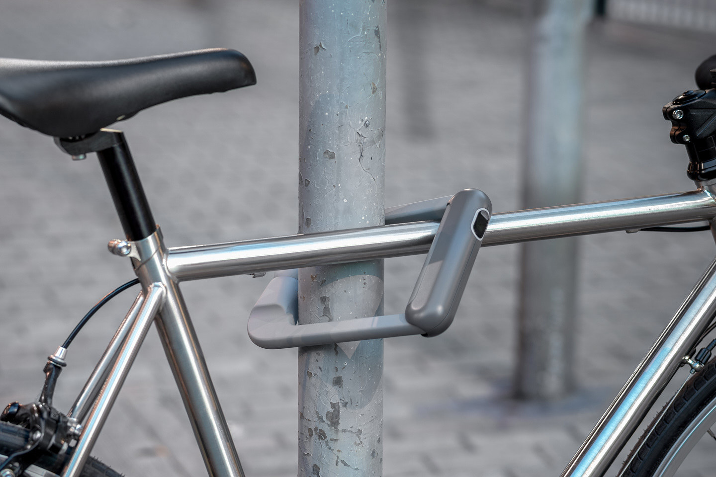 Bike Lock Office For Product Design